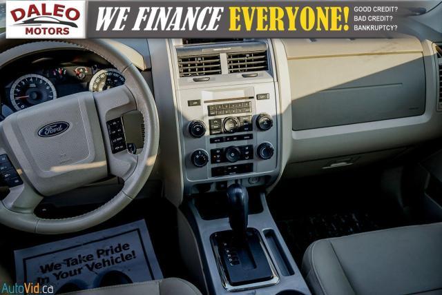2011 Ford Escape XLT / SUNROOF / SIRIS RADIO / HEATED SEATS Photo15