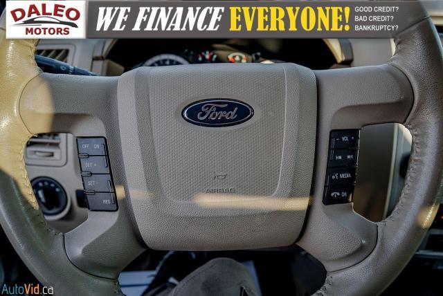 2011 Ford Escape XLT / SUNROOF / SIRIS RADIO / HEATED SEATS Photo19