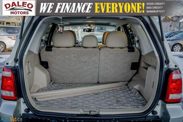 2011 Ford Escape XLT / SUNROOF / SIRIS RADIO / HEATED SEATS Photo24