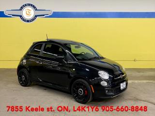 Used 2012 Fiat 500 Sport, Manual, 2 Years Warranty for sale in Vaughan, ON