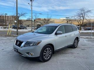 Used 2014 Nissan Pathfinder SL-7 PASS-AWD-LEATHER for sale in Toronto, ON