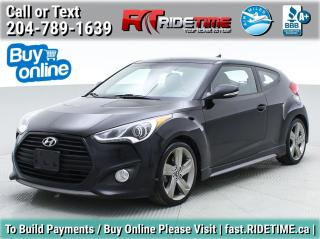 Used 2014 Hyundai Veloster Turbo for sale in Winnipeg, MB