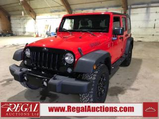 Used 2015 Jeep Wrangler Unlimited Sport 4D Utility 4WD 3.6L for sale in Calgary, AB
