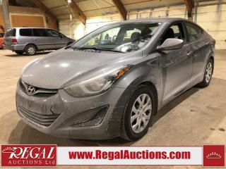 Used 2014 Hyundai Elantra 4D Sedan for sale in Calgary, AB