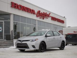 Used 2016 Toyota Corolla LE | 2 SETS OF TIRES | CLEAN! for sale in Winnipeg, MB