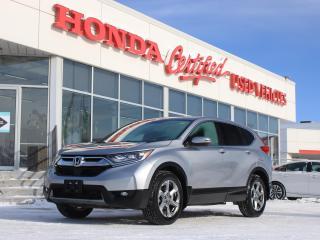 Used 2018 Honda CR-V EX AWD | SUNROOF | HONDA SENSING for sale in Winnipeg, MB
