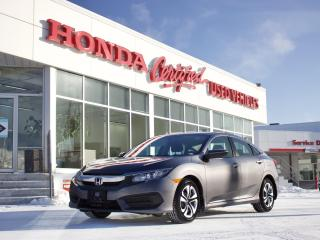 Used 2017 Honda Civic LX | APPLE CARPLAY | LOCAL for sale in Winnipeg, MB