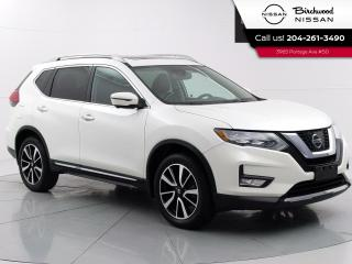 Used 2017 Nissan Rogue SL Platinum No Accidents, Leather, 360 Camera's, Remote Start for sale in Winnipeg, MB