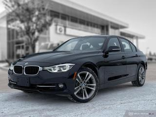 Used 2017 BMW 3 Series 330i xDrive Enhanced! Accident Free! Driver Assistance! for sale in Winnipeg, MB