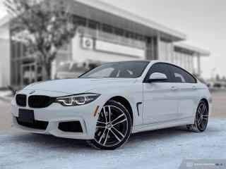 Used 2019 BMW 4 Series 440i xDrive Gran Coupe! M Performance 2! Enhanced! for sale in Winnipeg, MB