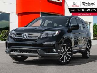 New 2021 Honda Pilot TOURING 8-PASSENGER for sale in Winnipeg, MB