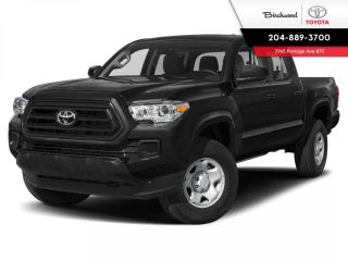 New 2021 Toyota Tacoma 4x4 Double Cab Auto SR5 for sale in Winnipeg, MB