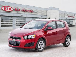 Used 2012 Chevrolet Sonic LS for sale in Winnipeg, MB