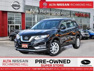 Used 2018 Nissan Rogue S AWD   Rear CAM   BSW   Aple Carply   HTD Seats for sale in Richmond Hill, ON