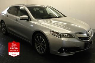 Used 2017 Acura TLX SH-AWD V6 ELITE *ADAPTIVE CRUISE - NAVIGATION* for sale in Winnipeg, MB