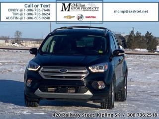 Used 2018 Ford Escape Titanium  2.0L I4 TURBO,HEATED LEATHER SEATS,NAV,S for sale in Kipling, SK