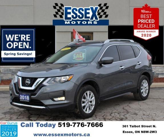 2018 Nissan Rogue AWD SV***No Accidents**Low KM**NEW BRAKES**