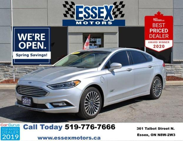 2017 Ford Fusion Energi Hybrid*Low K's*Heated Leather*SUNROOF