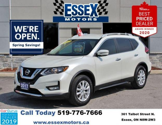 2017 Nissan Rogue Low K's*Bluetooth*Backup Cam*FWD