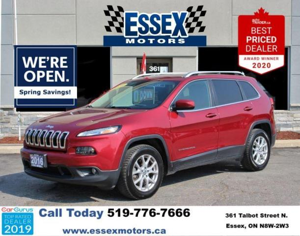 2016 Jeep Cherokee Low K's*Bluetooth*Backup Cam*FWD