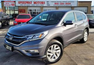 Used 2016 Honda CR-V AWD 5dr EX-L - Leather, Roof, Alloys for sale in Oakville, ON