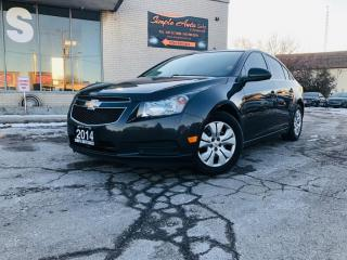 Used 2014 Chevrolet Cruze 4dr Sdn 1LT for sale in Barrie, ON