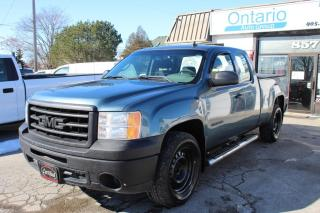 Used 2011 GMC Sierra 1500 5.3L Ext Cab WT cruise control Tonnneau cover for sale in Mississauga, ON