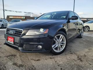 Used 2012 Audi A4 4dr Sdn Auto quattro 2.0T Premium Plus for sale in Oshawa, ON