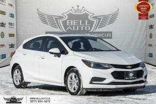 Used 2018 Chevrolet Cruze LT, RearCam, SunRoof, NoAccident, ParkAssist, Sensors for sale in Toronto, ON