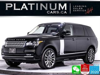 Used 2016 Land Rover Range Rover Autobiography LWB, REAR ENTERTAINMNET, HEATED, NAV for sale in Toronto, ON
