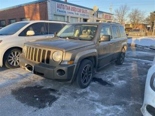 Used 2008 Jeep Patriot Sport, 2.4L, 4WD, HEATED SEATS, SAT RADIO for sale in Toronto, ON
