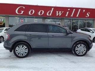Used 2009 Ford Edge HEATED LEATHER SEATS! NAV! for sale in Aylmer, ON
