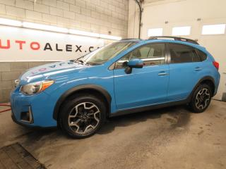 Used 2017 Subaru XV Crosstrek AWD LIMITED TECH PACK NAVI CUIR TOIT MAGS CAMERA for sale in St-Eustache, QC