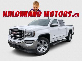 Used 2018 GMC Sierra 1500 SLT CREW E-ASSIST 4WD for sale in Cayuga, ON