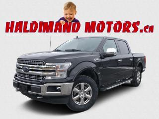 Used 2020 Ford F-150 Lariat Crew 4WD for sale in Cayuga, ON