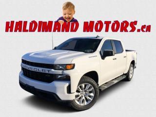 Used 2019 Chevrolet Silverado 1500 CUSTOM CREW 4WD for sale in Cayuga, ON
