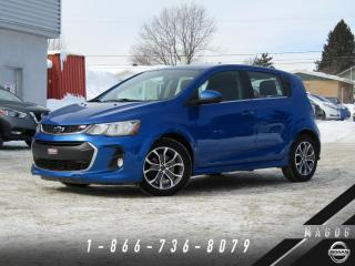 Used 2018 Chevrolet Sonic LT RS + CAMÉRA + MAGS + GARANTIE! for sale in Magog, QC