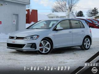 Used 2018 Volkswagen Golf GTI BAS KILO + GARANTIE + CAMÉRA! for sale in Magog, QC