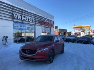 Used 2018 Mazda CX-5 GS TOURING**un seul propriétaire**bancs en cuir**très bonne condition ** BANC EN CUIR for sale in Val-d'Or, QC
