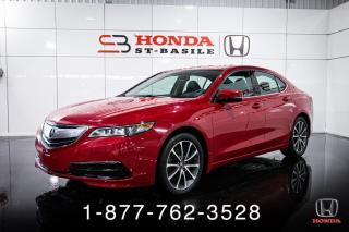 Used 2017 Acura TLX V6 + TECH + AWD + CUIR + NAVI + WOW! for sale in St-Basile-le-Grand, QC