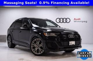 Used 2020 Audi Q7 Technik w/Dynamic Ride & Luxury Package *Low KM* for sale in Winnipeg, MB