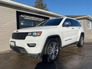 Used 2017 Jeep Grand Cherokee Limited - 5.7L V8 ENGINE - LEATHER - NAV! for sale in Kingston, ON