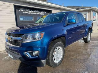 Used 2019 Chevrolet Colorado 4WD LT - CREW CAB - WE FINANCE! for sale in Kingston, ON