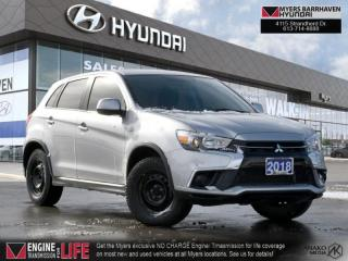Used 2018 Mitsubishi RVR ES  - Bluetooth -  Heated Seats - $120 B/W for sale in Nepean, ON