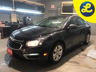 Used 2015 Chevrolet Cruze LT * 1.4L Turbo * 6 Speed Automatic * Back Up Camera * Cruise Control * Steering Wheel Controls * Hands Free Calling * Automatic Headlights * Automati for sale in Cambridge, ON