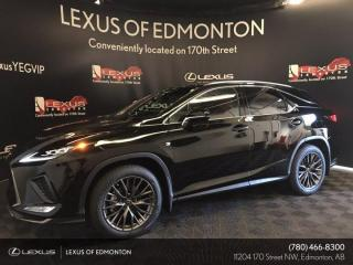 New 2021 Lexus RX 350 F Sport SERIES 2 for sale in Edmonton, AB