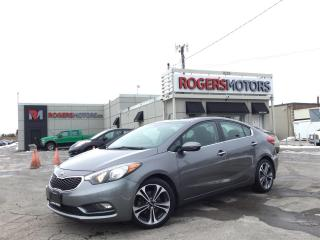 Used 2016 Kia Forte 2.99% Financing - SX GDI - NAVI - SUNROOF - LEATHER for sale in Oakville, ON