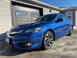 Used 2017 Acura ILX A-Spec - W TECH PACKAGE for sale in Kingston, ON
