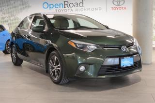 Used 2016 Toyota Corolla 4-door Sedan LE CVTi-S for sale in Richmond, BC