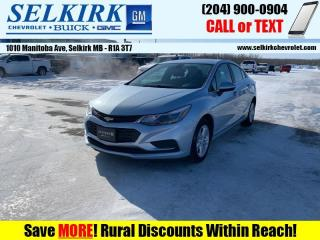 Used 2017 Chevrolet Cruze LT  *HTD SEATS, SUNROOF* for sale in Selkirk, MB